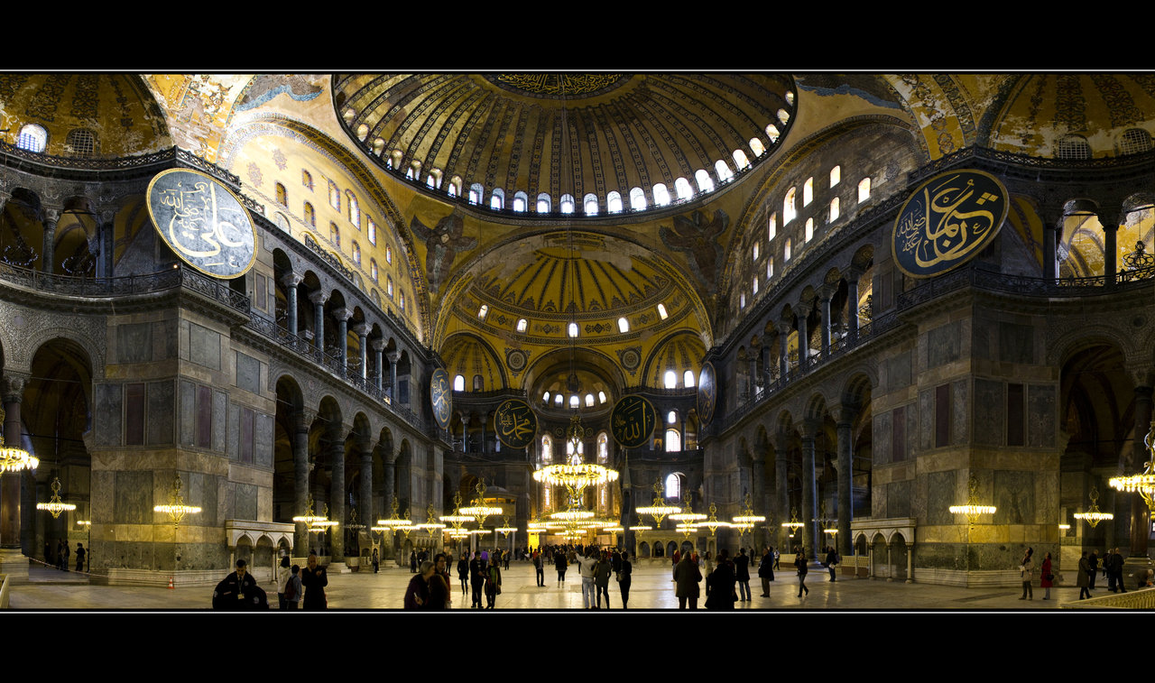 Hagia Sophia museum thrown open to public in 1945
