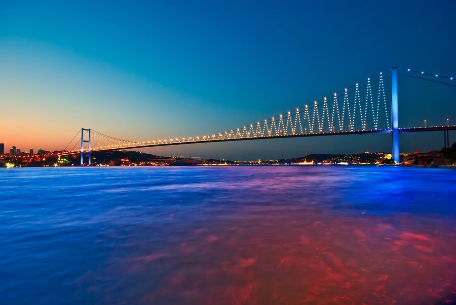 Bosphorus Bridge linking Asia with Europe