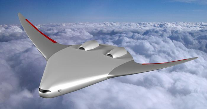 Draft Plane of the German Aerospace Center