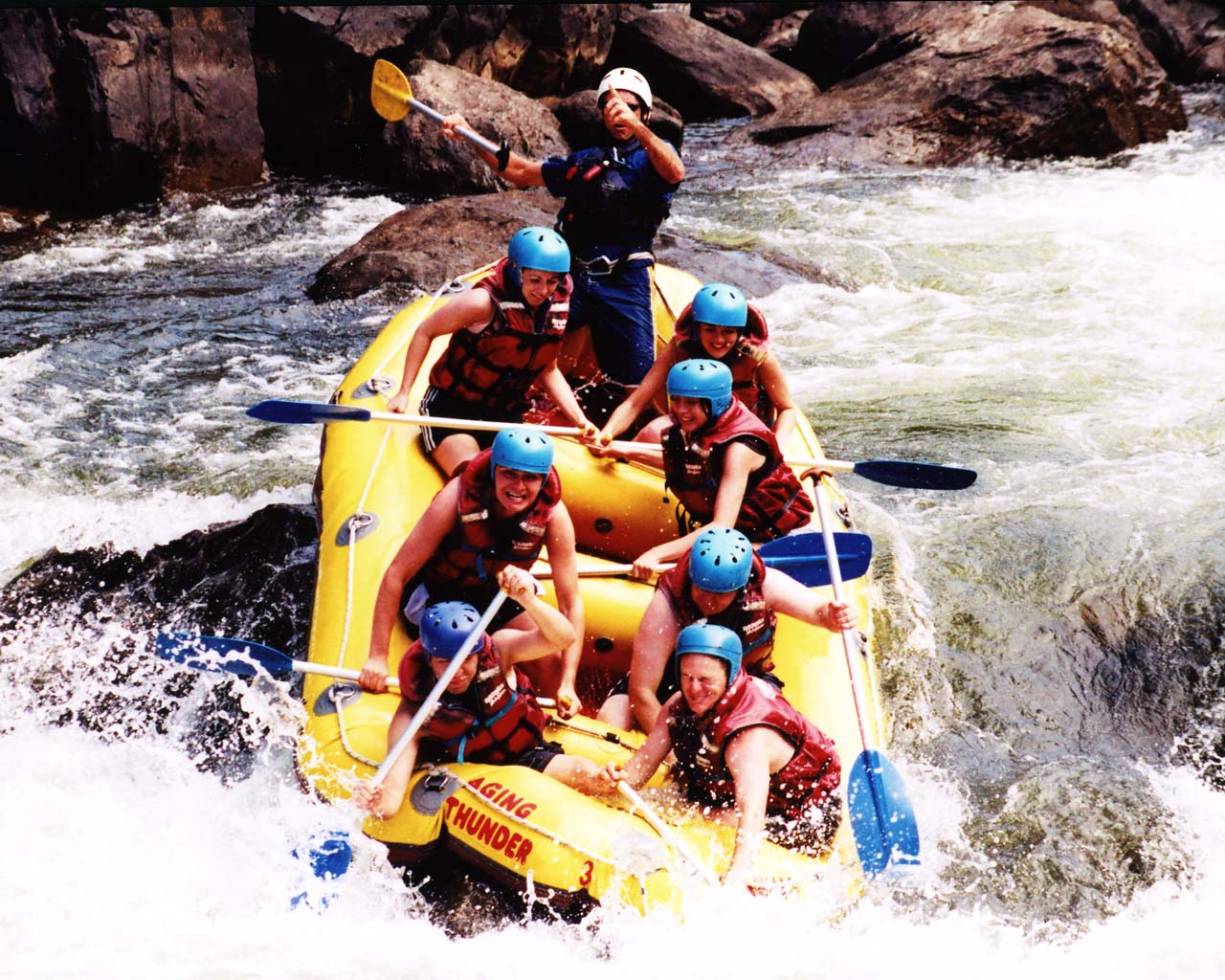 White Water Rafting, Cairns