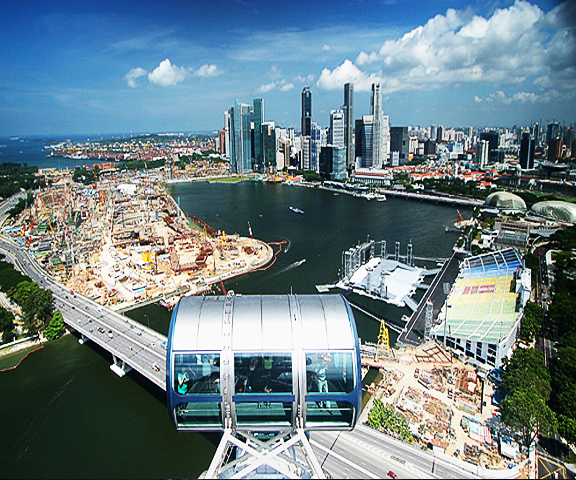 Singapore-Flyer, Singapore Group Tour From India