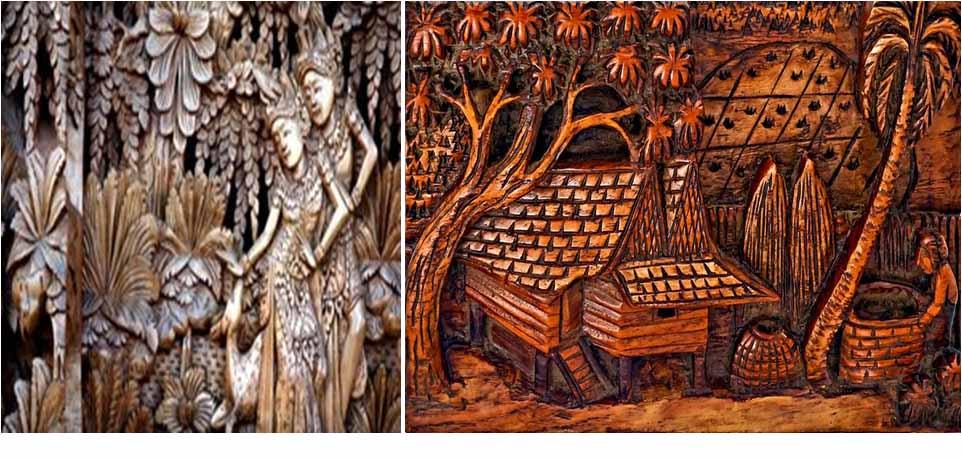 Wood-Carving-Art-in-Bali