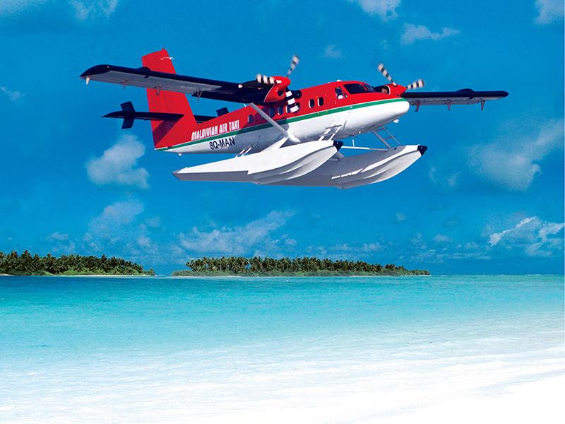 Sea-Plane-Maldives